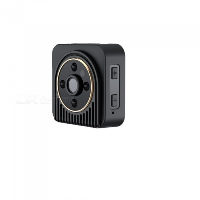 H5 32GB Wide Angle Wi-Fi Sport Action Camera with Night Vision - Black