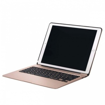 "Backligt Power Bank Bluetooth Keyboard for IPAD Pro12.9"" - Golden"