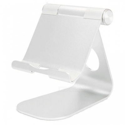 Universal IPAD Tablet PC Desktop Stand - White
