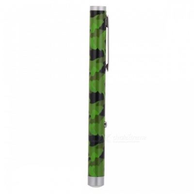 ZHAOYAO 5mW 532nm Single Dot Green Laser Pen - Camouflage Green