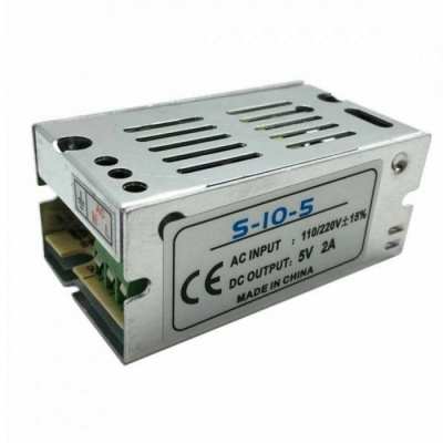 SPO 2A 5V 10W Switching Voltage Stabilizer - Silver (110-220V)