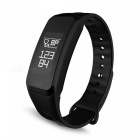 C1S Bluetooth Smart  Bracelet Wristband Heart Rate Monitor - Black