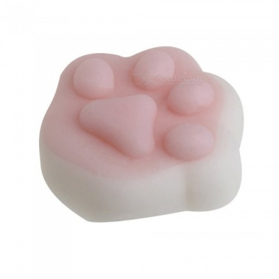 Cute Cat's Paw Style Mini Squishy Squeeze Soft Stress Reliever Toy