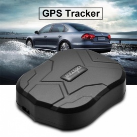 TK905 Waterproof Vehicle Car GPS Tracker Locator - Black (With Box)