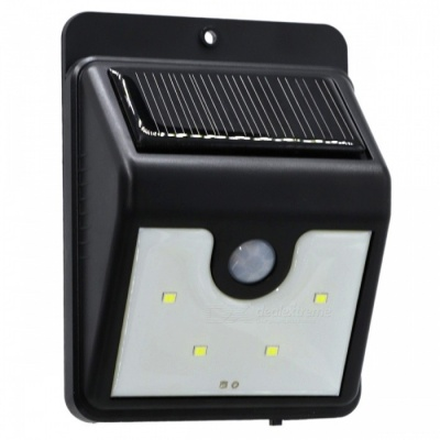 YWXLigh 4-LED Waterproof LED Solar Power Security Lamp