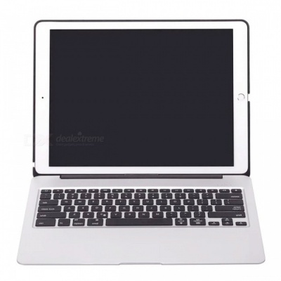 "5600mAh Power Bank Battery Case Keyboard for IPAD Pro 12.9"" - Silver"
