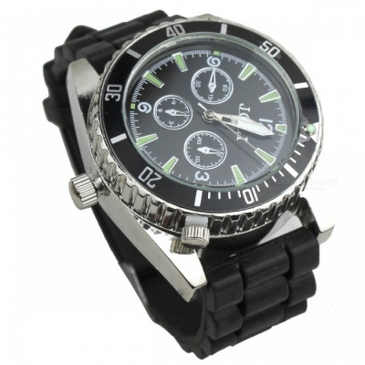 Zinc Alloy Men's Watch with Grinder
