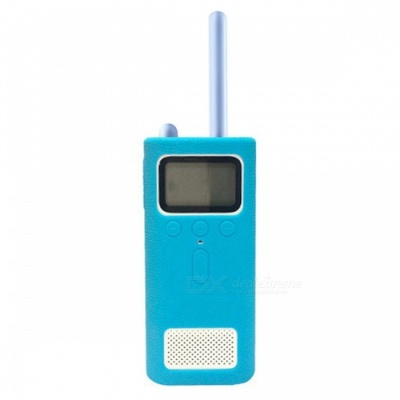LOPBEN Xiaomi Mijia Walkie Talkie Silicone Protective Cover - Blue