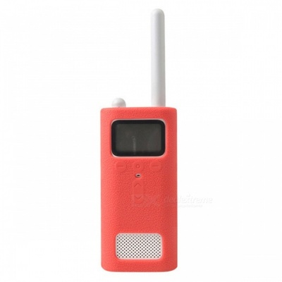 LOPBEN Xiaomi Mijia Walkie Talkie Silicone Protective Cover - Red