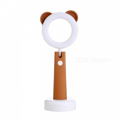 YWXLight 5V Creative Cartoon Mini USB Table Lamp (Brown)