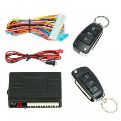 Car Alarm Auto System Remote Control Central Locking Door kit Keyless
