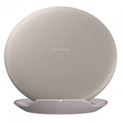Mindzo Qi Standard Fast Charge Charging Wireless Charger - Brown