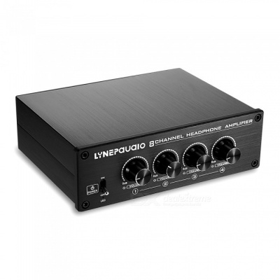 LINEPAUDIO A966 Professional 8-Channel Headphone Amplifier Distributor