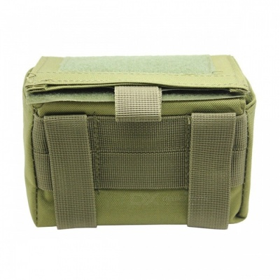 Portable 15-Round Ammunition Tactical Package, Bullet Bag - Army Green