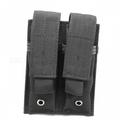 Tactical Molle Ammo Magazine Pouch Holder Bag - Black