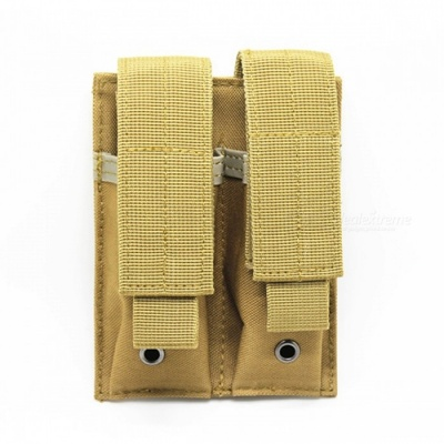 Tactical Molle Ammo Magazine Pouch Holder Bag - Tan