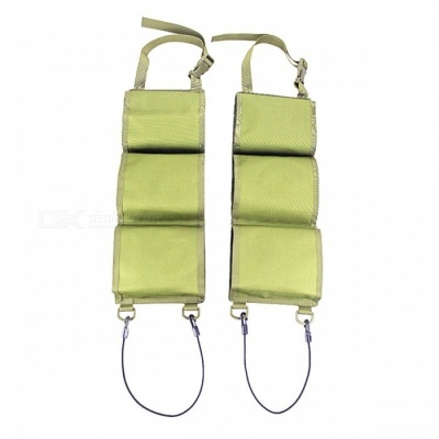 Outdoor Sports Car Seat Back Pike Stealth Holster Bag - Army Green