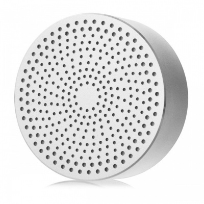 Mini Portable Wireless Bluetooth Speaker for Cell Phones - Silver