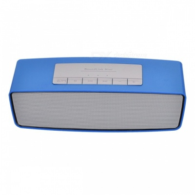 S815 Portable Wireless Bluetooth Speaker for Home Use - Blue