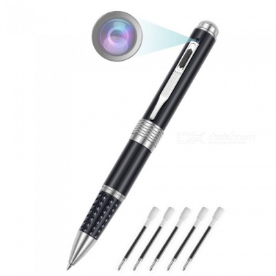 ENKLOV srl22b 1080P HD Portable Pen with Camera - Black