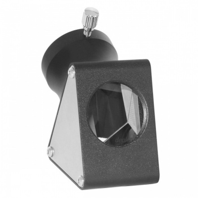 1.25'' Zenith Mirror 45-Degree Erecting Prism for Astronomy - Black