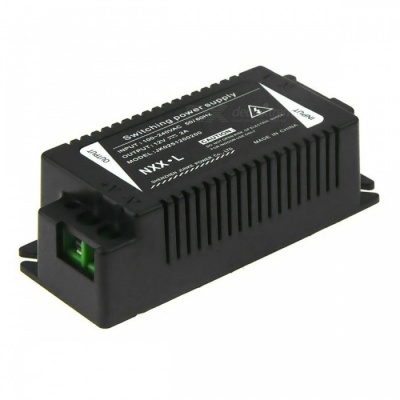 IN-COLOR 12V 2A Regulated Switching Power Supply Adapter (AC 100~240V)
