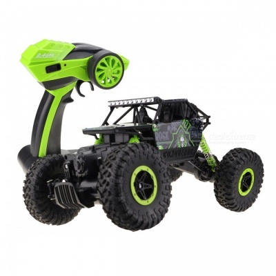 RC Car 4WD 2.4GHz Rock Crawlers Rally Climbing Car - Green
