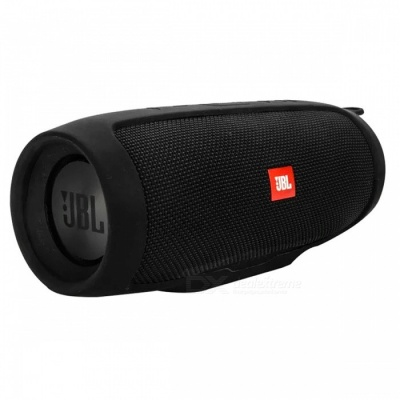 Soft Silicone Case Cover for JBL Charge3 Bluetooth Speaker - Black