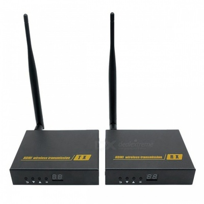 2.4GHz 5.8GHz Wireless HDMI Transmitter and Receiver Kit (US Plug)