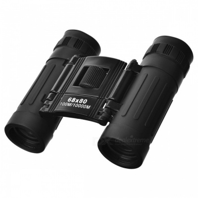 Mini Portable HD 8X Telescope Binocular - Black