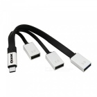 Qook USB 3.1 Type-C to USB 2.0 3.0 Female Charger Adapter Cable