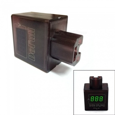2A Electric Car Lithium Battery Voltage Monitor, USB Phone Charger