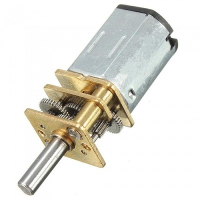 DC 12V 100RPM Micro Electric Full Metal Speed Mini Gear Motor