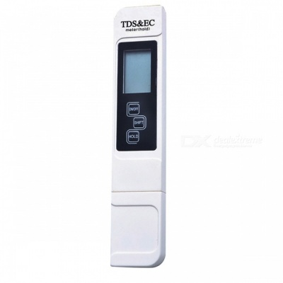 3-in-1 LCD Digital TDS EC PPM Water Quality Meter Tester