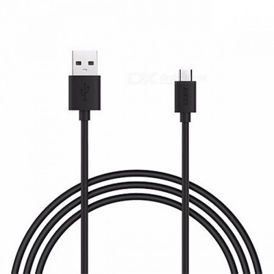 AUKEY CB-D9 2m Universal USB 2.0 Male to Micro USB Data Cable - Black