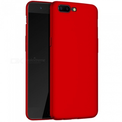 Naxtop Protective PC Hard Back Case for OnePlus 5 - Red