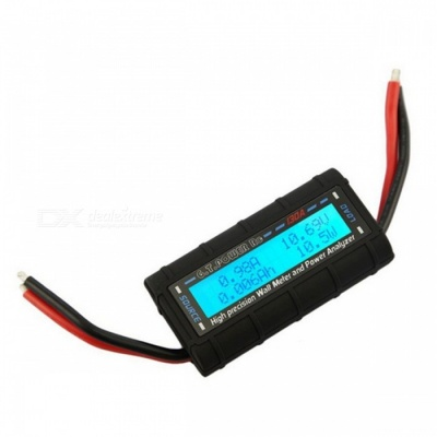 130A High precision Watt Meter and RC Power Analyzer - Black