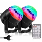 YouOKLight LED RGB Rotating DJ Disco Party Ball Light (EU Plug)