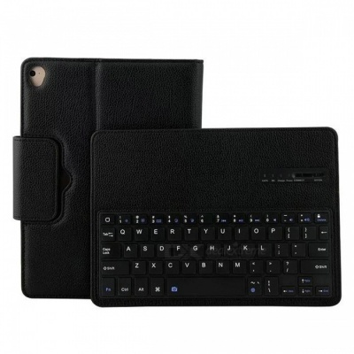 "Removable Wireless Keyboard PU Case for IPAD Air, Air2, Pro9.7"" -Black"