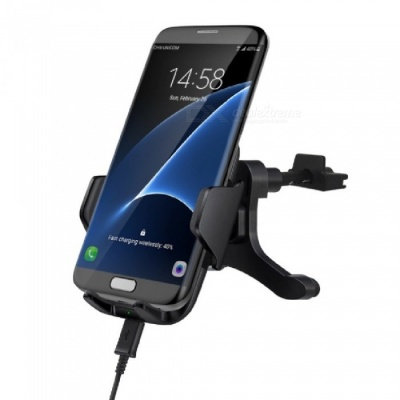 Mindzo F12B Car Mount Fast Charge Qi Wireless Charger for Cell Phones
