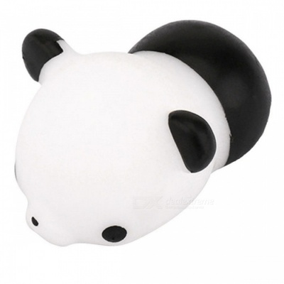 Mini Cute Panda Squeeze Stress Reliever Toy for Kids - Black, White