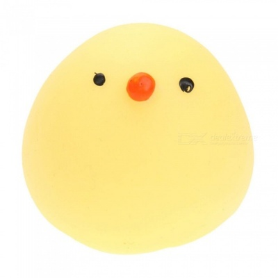 1Pc Funny Mini Fat Chicken TPR Squishy Toy Funny Stress Reliever Gift