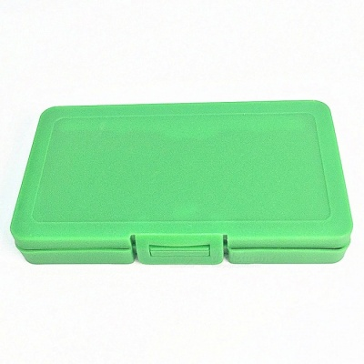 SD TD Memory Card ABS Storage Box with 6 Card Slots - Green