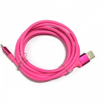 Xiaomi TPE 2m Micro USB to USB 2.0 Charging Data Cable  - Deep Pink