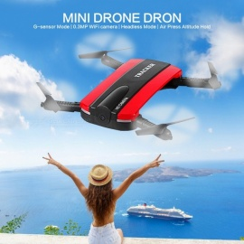 JXD 523 Foldable Selfie RC Drone Helicopter Tracker - Red
