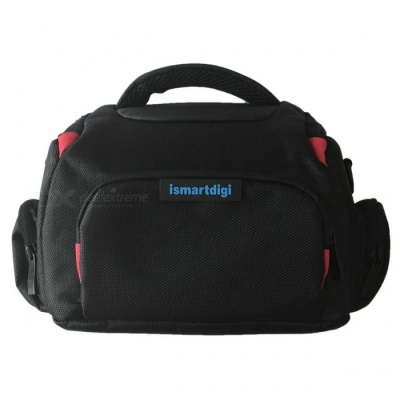 i-B68-M Camera Bag for All DSLR and Mini DSLR DV Cameras - Black