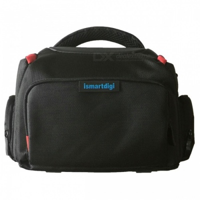 i-B68-L Camera Bag for All DSLR and Mini DSLR DV Cameras - Black