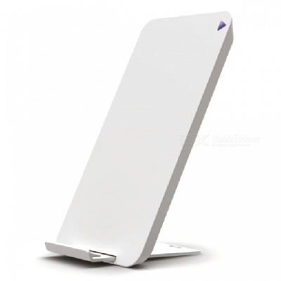 Mindzo Fast Quick Charge Wireless Qi Charger Charging Stand - White