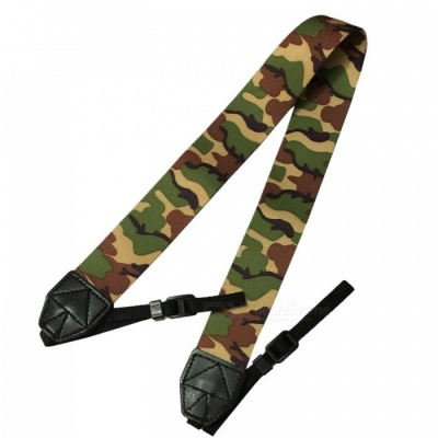 Ismartdigi Camouflage Camera Strap for All DSLR Camera - Multi-color