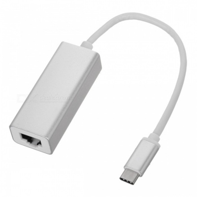 BSTUO USB3.1 Type-C to RJ45 10/100/1000Mbps Gigabit Ethernet Adapter